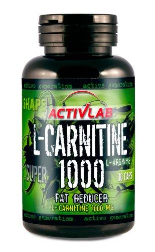 Activlab L-Carnitine 1000 (30 Caps), 1er Pack (1 x 60 g)