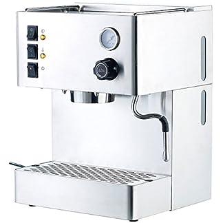 Cucina-di-Modena-Espresso-Kaffeemaschinen-Siebtrger-Espressomaschine-ES-1500mm-mit-Manometer-Siebtrger-Espressoautomaten