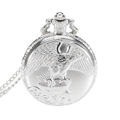 Dxlta-Vintage-Herren-Damen-Taschenuhr-Schmuck-Antike-Adler-Flgel-Quarz-Halskette-Anhnger-Kette-Uhr-Geschenk