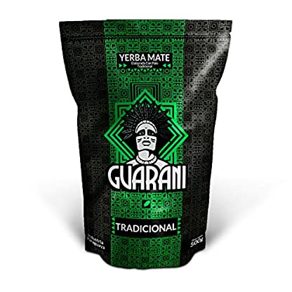 Mate-Tee-Yerba-Mate-Elaborada-ConPalo-Tradicional-500g-Guarani-Tradicional-Yerba-Mate-aus-Paraguay-Hohe-Qualitt-Stark-anregender-Yerba-Mate