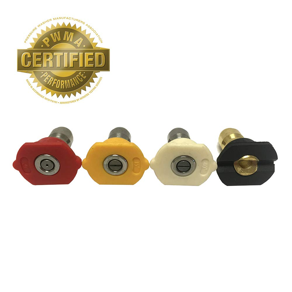 YardForce-1102806RYWB-YFTIPKIT-Hochdruckreiniger-Dsen-Set-Wei-Gelb-Rot-Schwarz