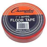 Champion-Sports-CHS1X36FTRD-Bodenmarkierungsband-Red