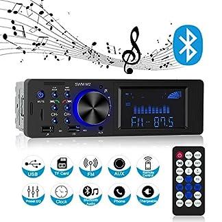 Autoradio-mit-Bluetooth-Freisprecheinrichtung