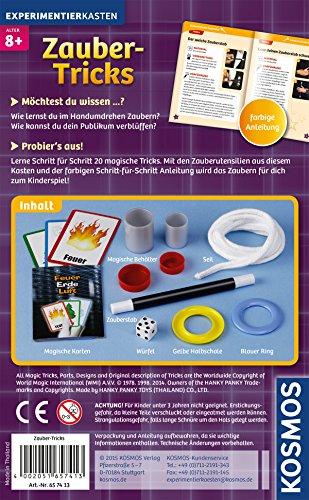 Kosmos-657413-Spielset-Zauber-Tricks