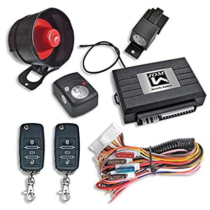 JOM-7106-Alarmanlage-universal-mit-Funkfernbedienung-und-ZV-Ansteuerung-Erschtterungssensor-Klappschlssel-Handsender