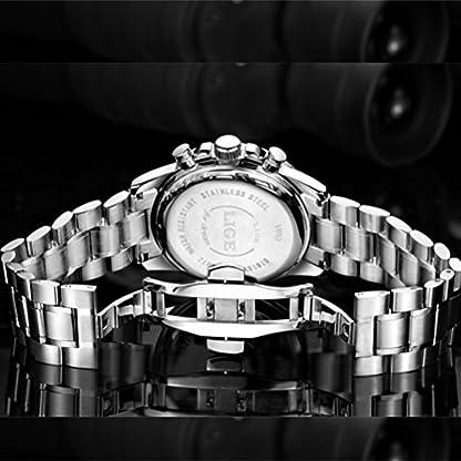 Herrenuhren-Analog-Quarz-Edelstahl-Uhr-Herren-Luxusmarke-LIGE-Wasserdicht-Chronograph-Uhr-Mann-Datum-Business-Casual-Silber-Armbanduhr-Mode-Elegantes-Kleid-Uhr