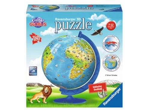 Ravensburger-12337-Kinderglobus-in-Deutscher-Sprache-3D-Puzzle