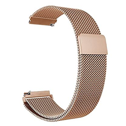 Aimtel-Kompatibel-Fossil-Q-Venture-Armband-18mm-Milanese-Loop-Metall-Edelstahlband-Zubehr-Strap-Band-Kompatibel-Fossil-Q-VentureGen-4Huawei-TalkBand-B4-Uhr