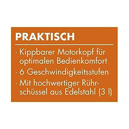 GOURMETmaxx-Kchenmaschine-Retro-Elektrische-Kuechenmaschine-Top-Kchengert-Multifunktionsmixer-50s-Retro-Style-Geschwindigkeitsstufen-Edelstahl-Mixen-Sahneschlagen-250-Watt