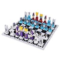 B-Blesiya-Internationales-Schachspiel-Schachbrett-Schachfiguren-Set-fr-Kinder
