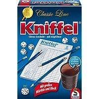 Schmidt-Spiele-49203-Classic-Line-Kniffel-mit-gr-Wrfeln-Block