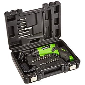 Kawasaki-Akkuschrauber-klein-Set-mit-Koffer-und-Bits-1500-mAh-Drehmoment-einstellbar-LED-Licht-Softgriff-Handschrauber