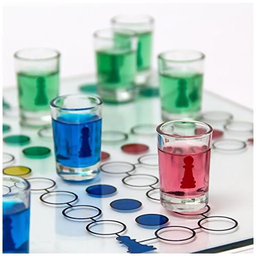 Relaxdays-Trinkspiel-Drinking-Ludo-2-Wrfel-16-Schnapsglser-Partyspiel-Spa-fr-Erwachsene-30-x-30-cm-transparent