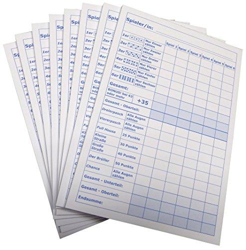 Block-fr-Wrfelspiel-50-Blatt-Druck-in-Blau-DIN-A5-50-Blatt-Qualitts-Offset-Papier-80gm-22671