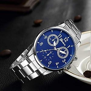 Armbanduhr-Men-Liusdh-Uhren-Genfer-satiniertes-Edelstahlband-mit-einzelner-Kalenderuhr-goldene-runde-Luxus-BusinessuhrLEinheitsgre