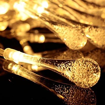 OOFAY-30-LED-Solar-Lichterkette-Wassertopfen-Regentropfen-5-Meter-Auen-Innen-Outdoor-Garten-Party-Fest-Deko-Weihnachten-Hochzeit-Beleuchtung-Solarbetrieben