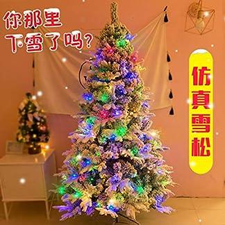 CYWYQ-Led-Knstlicher-Weihnachtsbaum-Beflockte-Schnee-Premium-fichte-Klappbar-Lwl-Baum-Dekorierte-Christbaum-In-Stand-Mit-Metallstnder-Fr-Homedecoration