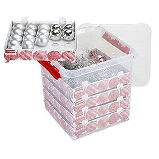 Sunware-Q-Line-Weihnachtskugeln-mit-Ablagen-fr-125-Kugeln-transparent-rot-38-Liter