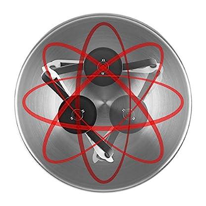 Klarstein-Bella-Argentea-Komplettset-Kchenmaschine-Zusatzschssel-1200-Watt-Leistung-6-Geschwindigkeiten-52-Liter-Edelstahl-Schssel-Rhr-und-Knethaken-Schneebesen-silber