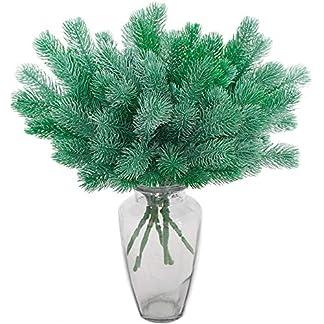 Aisamco-5-Stck-Knstliche-Tannenzweige-Grnpflanzen-Tannennadeln-DIY-Zubehr-fr-Girlande-Kranz-Weihnachten-Verschnern-und-Home-Garden-Decor