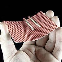 Gogogo-Schwimm-Spiel-auf-Poker-Karte-Nahaufnahme-Zaubertrick-Bhnen-Straenshow-Satz-2-Stck