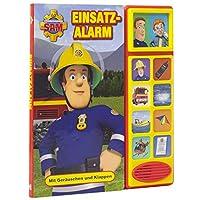 Feuerwehrmann-Sam-Einsatzalarm-Klappen-Gerusche-Buch-fr-Kinder-ab-3-Jahren