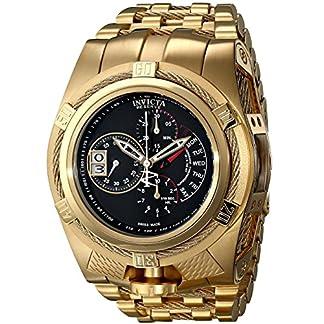 Invicta-Herren-Chronograph-Quarz-Uhr-mit-Edelstahl-beschichtet-Armband-16956