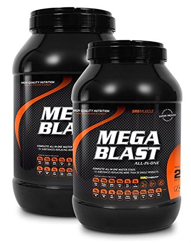 SRS Mega Blast 1900g Pfirsich-Eistee