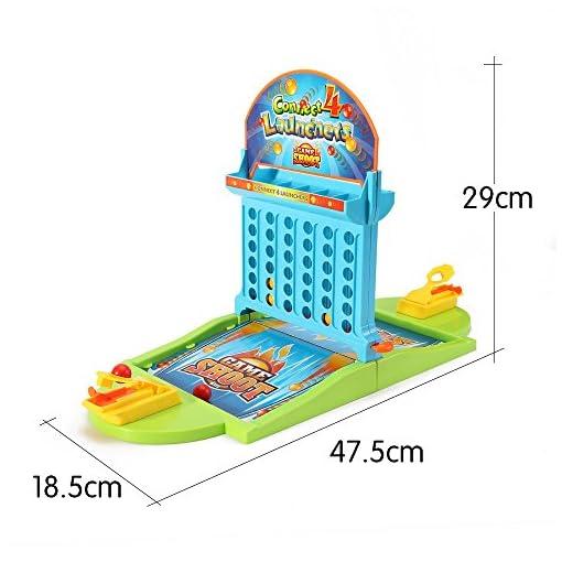 Verbindung-4-Tisch-Ball-Brettspiel-Schieen-Spiele-4-in-eine-Zeile-Reise-Spiel-Spielsachen-fr-Kinder-by-BebyNeu