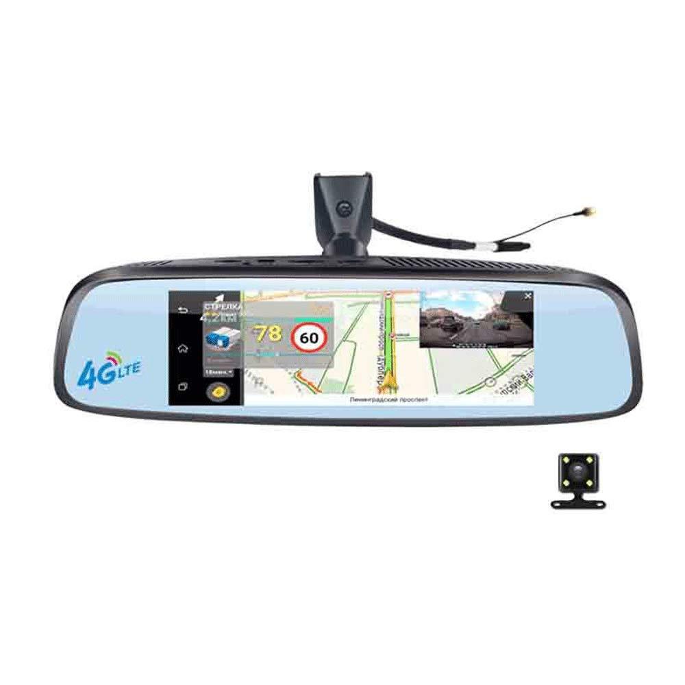 1080P-vordere-und-hintere-Autokamera-intelligentes-System-GPS-Navigation-Rckspiegel-DVR-Doppelobjektiv-Frontrckseite-1080P-720P-Kamera-Recorder-mit-G-Sensor-Bewegungserkennung-Nachtsicht