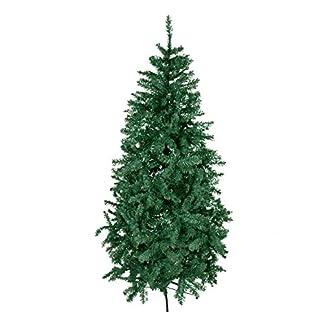 Giardino-30112-Knstlicher-Weihnachtsbaum-Deluxe-inklusiv-Stnder-Hhe-180-cm-grn