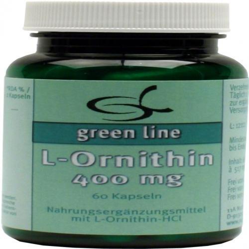 L-ORNITHIN 400 mg Kapseln 60 St Kapseln