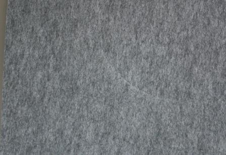 GLOREX 6 1212 713 Bastelfilz, Fliz, grau, 40 x 30 x 0,4 cm