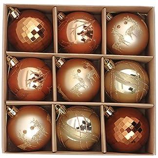 Plastik Christbaumkugeln.Valery Madelyn Weihnachtskugeln 9 Stucke 6cm Plastik Christbaumkugeln Weihnachtsdeko Mit Aufhanger Weihnachtsbaumschmuck Weihnachtsdekoration Mehrweg