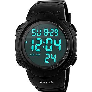 Herren-Sport-Digitaluhren-Outdoor-Wasserdicht-Sportuhr-mit-WeckerTimer-Big-Face-Military-Digital-Armbanduhren-mit-LED-Hintergrundbeleuchtung-Uhren-fr-Lauf-Herren-Schwarz-von-VDSOW