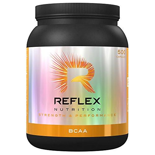 Reflex Nutrition BCAA L-Leucine, L-Isoleucine & Valine 500 Kapseln