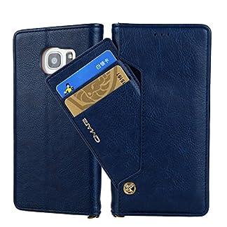 Miya-System-Ltd-Multifunktionale-Handy-Hlle-fr-SamsungMiya-Handy-Case-Hlle-Retro-Premium-PU-Leder-Dual-Layer-Design-Smart-Wallet-Schutzhlle-mit-Kartensteckplatz-Case-Cover