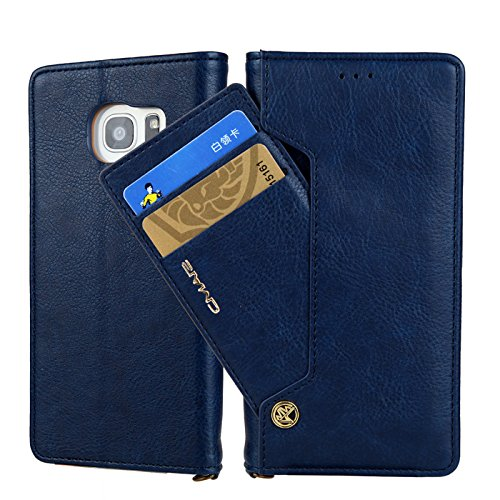 Miya-System-Ltd-Multifunktionale-Handy-Hlle-fr-SamsungMiya-Handy-Case-Hlle-Retro-Premium-PU-Leder-Dual-Layer-Design-Smart-Wallet-Schutzhlle-mit-Kartensteckplatz-Case-Cover