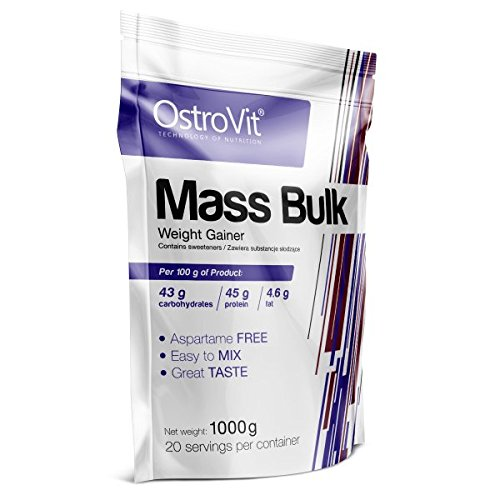 OstroVit MASS BULK White Chocolate, 1er Pack (1 x 1 kg)