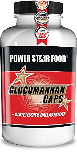 GLUCOMANNAN CAPS – 100% Glukomannan Ballaststoff Fasern aus Konjakwurzel – natürlicher Fettverbrenner & Appetitzügler für schnelles Sättigungsgefühl – 240 Kapseln vegan – MADE IN GERMANY