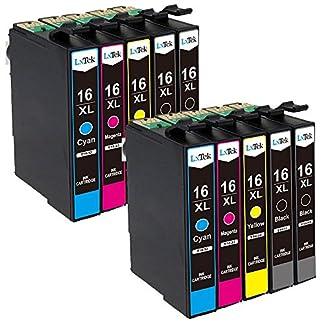 LxTek-Ersatz-fr-Epson-16-16XL-Druckerpatronen-Kompatibel-mit-Epson-Workforce-WF-2630-WF-2760-WF-2510-WF-2660-WF-2530-WF-2540-WF-2010-WF-2750-WF-2650-4-Schwarz-2-Cyan-2-Magenta-2-Gelb