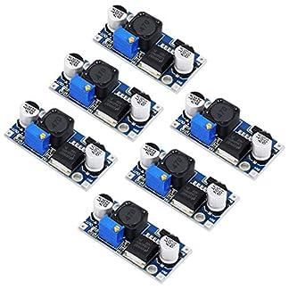 HAUSPROFI-LM2596-DC-DC-Spannungsregler-Abwrtswandler-Buck-Converter-32-40V-bis-125-35V-Spannung-Step-Down-Wandler-Einstellbar-Schaltregler-Modul-6-Stcke