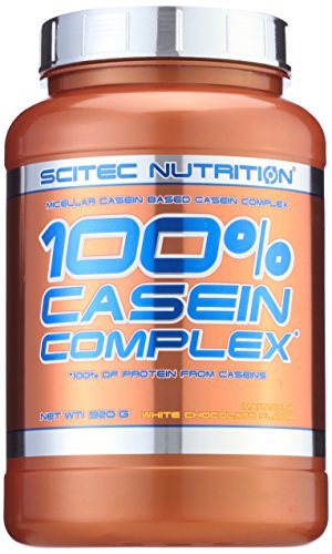 Scitec Nutrition  Casein Complex Maracuja- White Chocolate, 1er Pack (1 x 920 g)