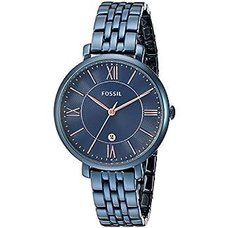 Fossil-Damen-Armbanduhr-36-mm-Jacqueline-mit-5-Gliedern