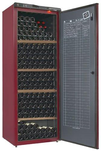 Climadiff-cv295-Keller-Alterung-294-Flaschen-Klasse-A-rot