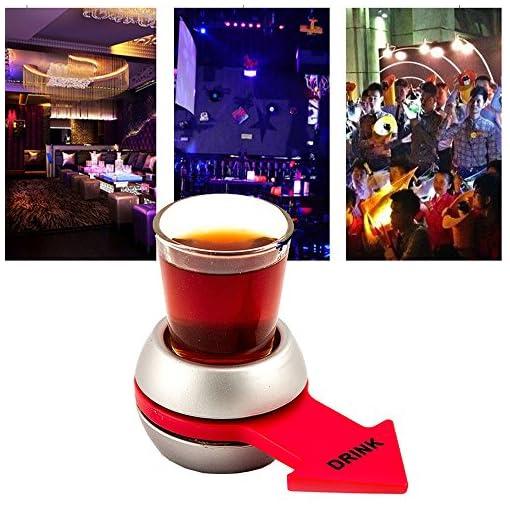 Pfeil-Drehscheibe-Trinkspiel-COLORFUL-Spin-The-Shot-Spinner-Spin-Die-Schuss-Roulette-Glas-Alkohol-trinken-Spiel-Party-Party-Spiel-Nachtclub-Bar-Trinkspiel