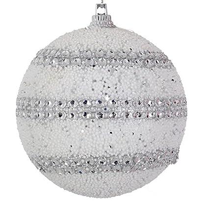 Unbekannt-6-st-Wei-Silber-Weihnachts-Kugeln-Christbaumkugeln-Baumschmuck-Weihnachtsdeko-Haus-Tannenbaum-Anhnger-Xmas