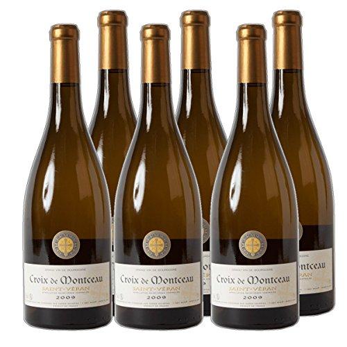 Saint-Veran-blanc-Croix-de-Monteau-AC-Weiwein-Chardonnay-Frankreich-2016-trocken-6x-075-l