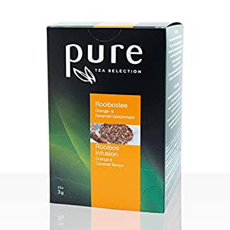 Tee-Rooibos-Orange-Karamell-aus-der-PURE-Tea-Selection-6-x-25-Sachets