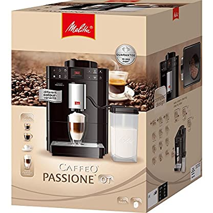 Melitta-Caffeo-Passione-OT-F53-Kaffeevollautomat-One-Touch-Funktion-Milchbehlter